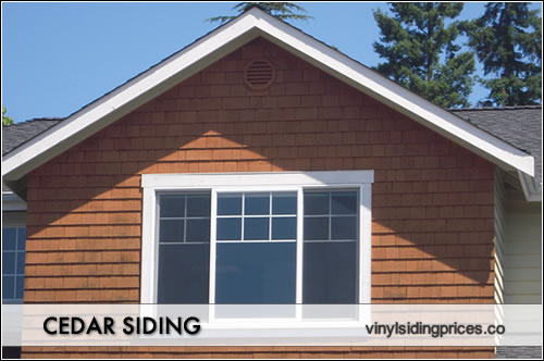 Cedar shingle siding prices product installation pricing for What is 1 square of vinyl siding